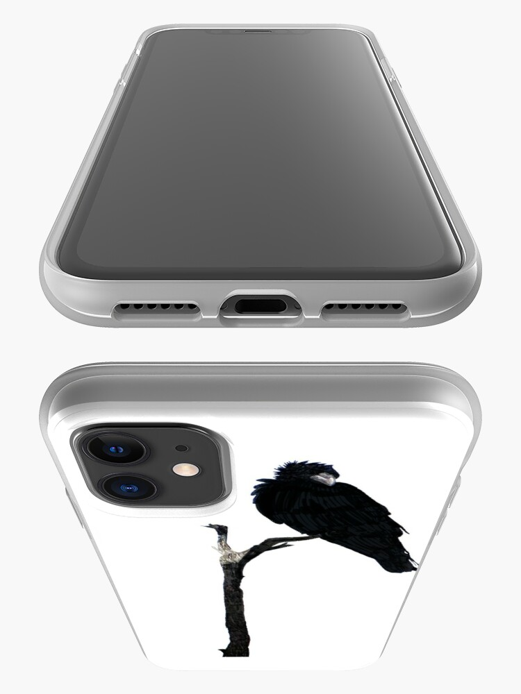 Alternate view of Punk Rock Raven iPhone Case & Cover