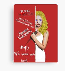 We Need You Back Canvas Print