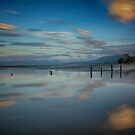 Sunset at Collingwood Beach by Linda Cutche