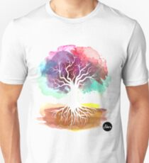 Tree watercolor Unisex T-Shirt