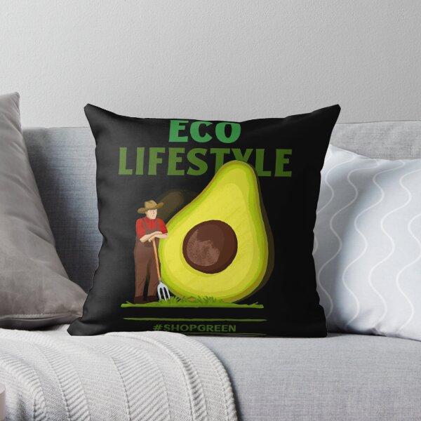 Öko-Lifestyle-Shop grün - Öko einkaufen Dekokissen