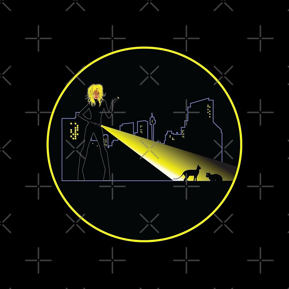 Nachtleben - Nachtwache von Candywrap Design