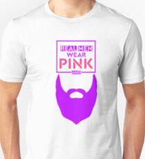 Real Mean Wear Pink & Grow Beard (Purple) T-Shirt