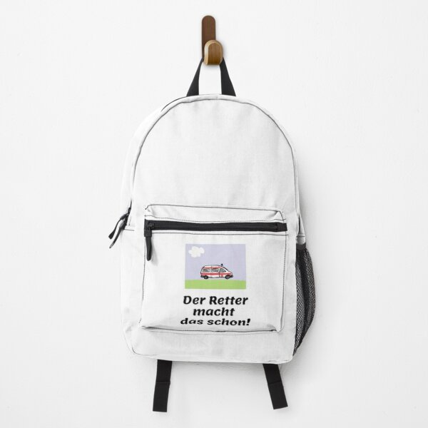 The rescuer will do it! Backpack