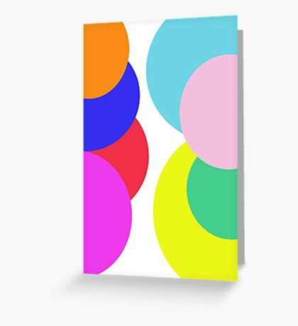 A Little Bubble Colour Greeting Card