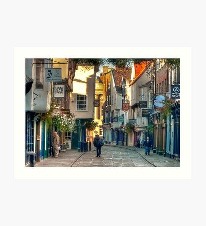 Stonegate - York,England,UK Art Print