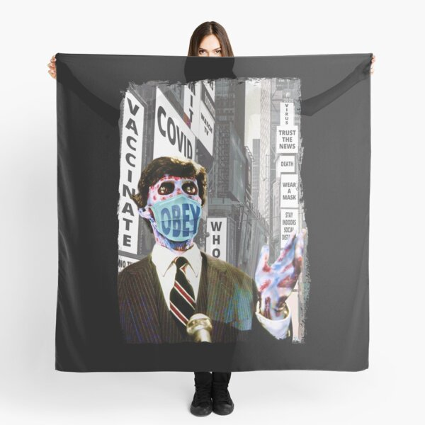 They Live, Obey The Rules, Wear Your Covid Face Mask Gift For Men and Women, Gift For Father Day, Gift Halloween Day, Gift Thanksgiving, Gift Christmas Day Scarf