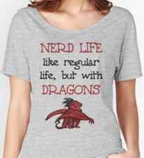 Nerd Life Women's Relaxed Fit T-Shirt