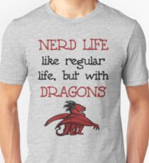 Nerd Life Slim Fit T-Shirt