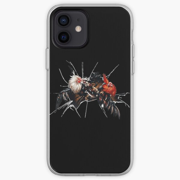 Cock fighting iPhone Soft Case