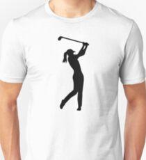 Golf woman girl Unisex T-Shirt