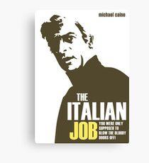 Michael Caine - The Italian Job Canvas Print