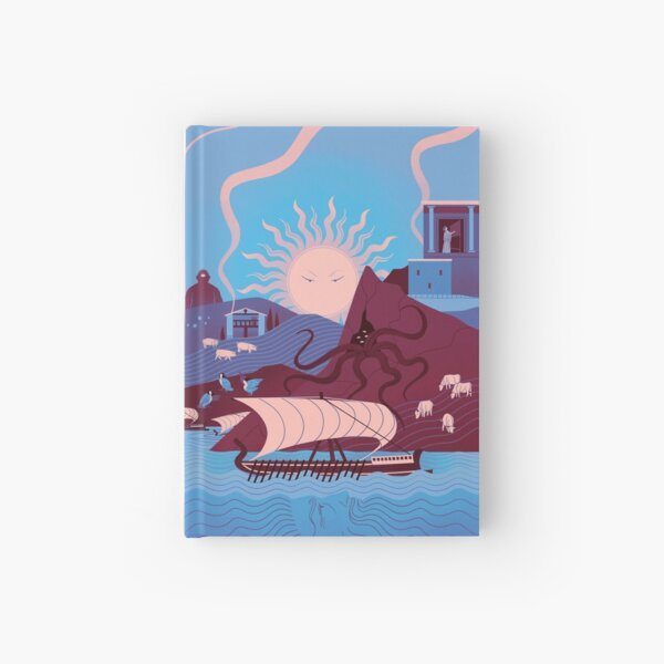 Homeric Landscape - Winter Hardcover Journal