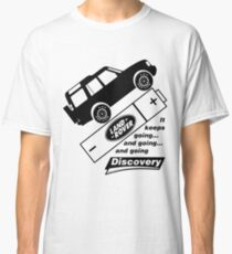 Energiser Battery - Land Rover (Parody) Classic T-Shirt
