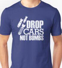 Drop Cars Not Bombs (7) T-Shirt
