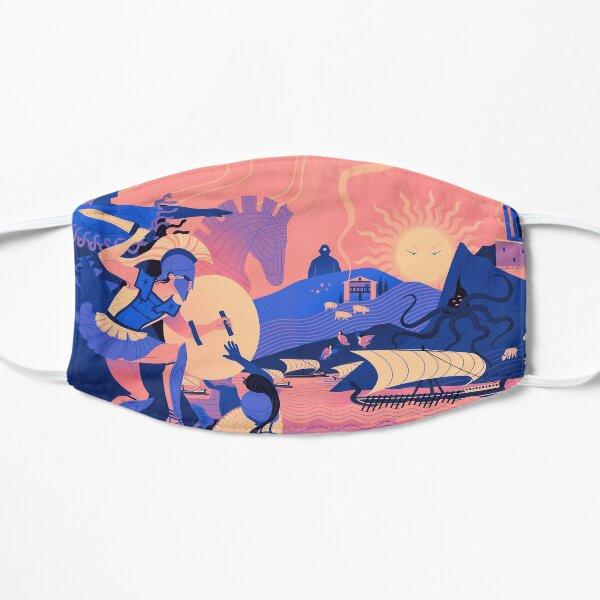 Homeric Landscape - Summer Flat Mask