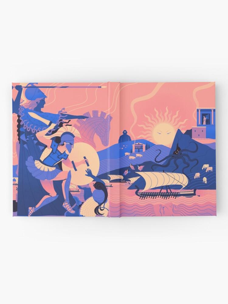 Alternate view of Homeric Landscape - Summer Hardcover Journal