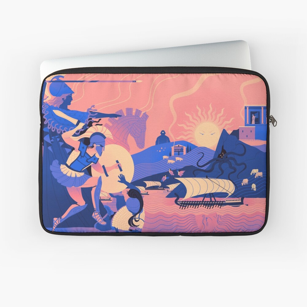 Homeric Landscape - Summer Laptop Sleeve