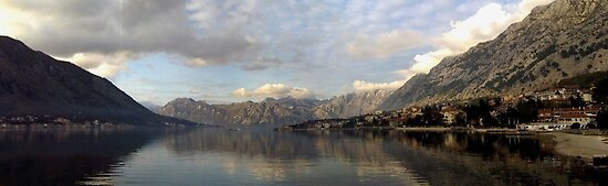 Kotor Bay Panorama by Smaxi