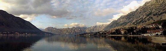 Kotor Bay Panorama by Smaxi