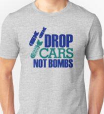 Drop Cars Not Bombs (2) T-Shirt
