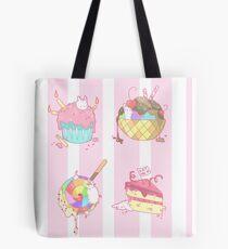 Bunny Desserts Tote Bag