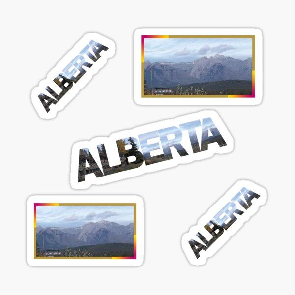 Juniper Inn View, Alberta.Canada Sticker