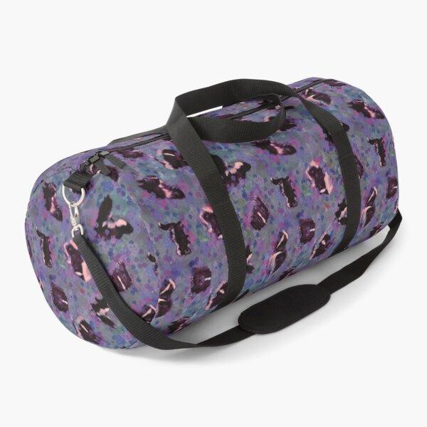 Skunks & Pansies Duffle Bag