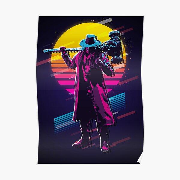 Resident Evil - Heisenberg * 80er * Poster