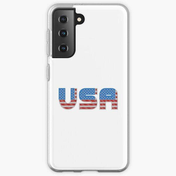 USA - Patriotic Flag Samsung Galaxy Soft Case