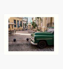 Havana Vieja Art Print