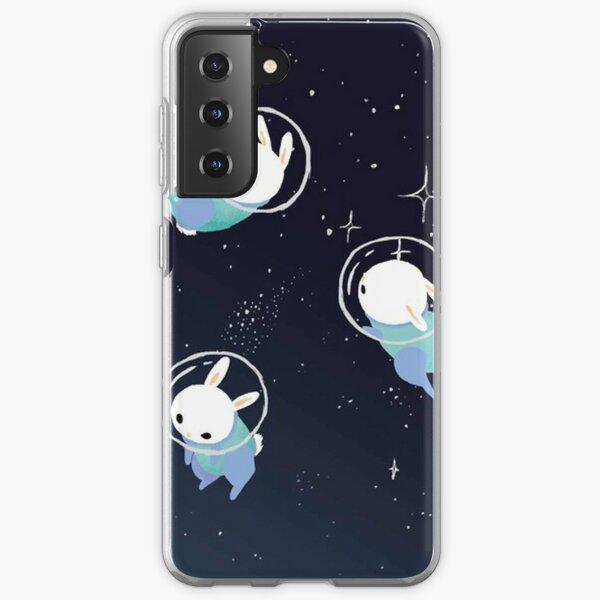 Space Bunnies Cute Samsung Galaxy Soft Case