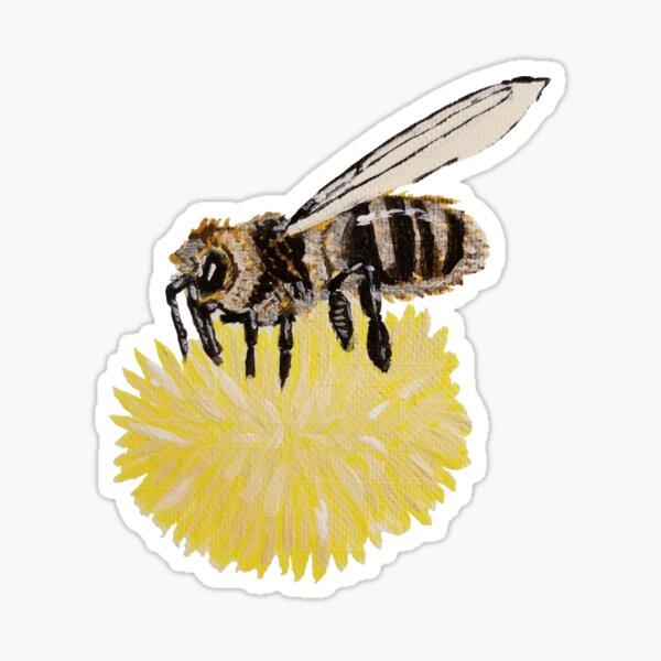Grandpa's Bee Sticker