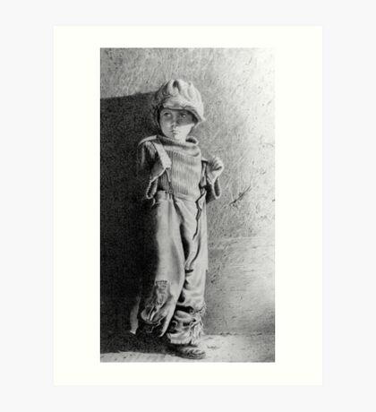 The Kid ..Jackie Coogan Art Print