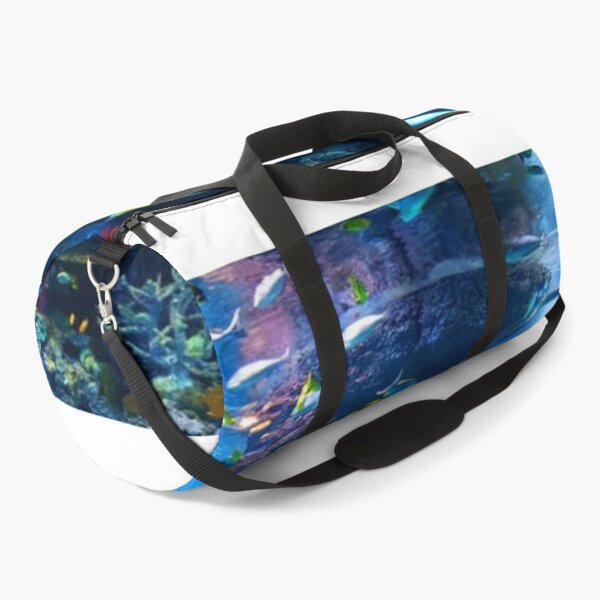 tropical aquarium Duffle Bag