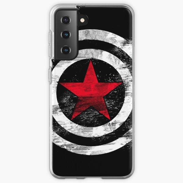 Soldado de Invierno Funda blanda para Samsung Galaxy