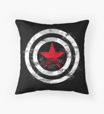 Winter Soldier Throw Pillow