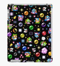 Bubble Bobble - Black iPad Case/Skin
