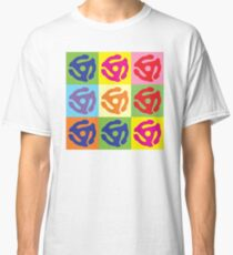 45 Record Holder Pop Art T-Shirt Classic T-Shirt