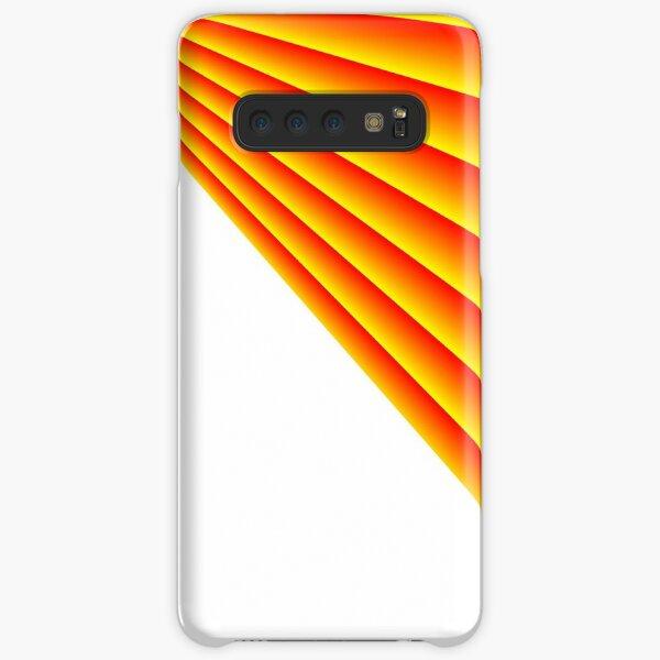 Linear Scalar Vector Orange Crush Samsung Galaxy Snap Case