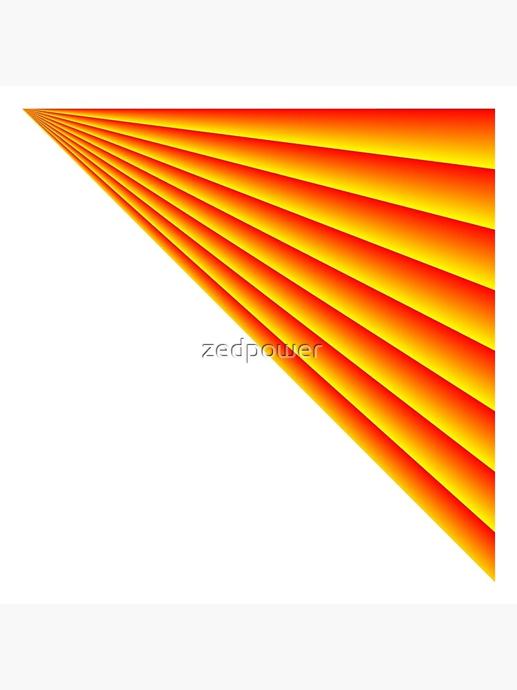 Linear Scalar Vector Orange Crush by zedpower