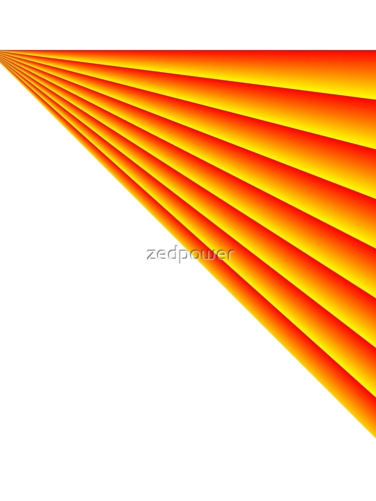 Linear Scalar Vector Orange Crush by zedpower