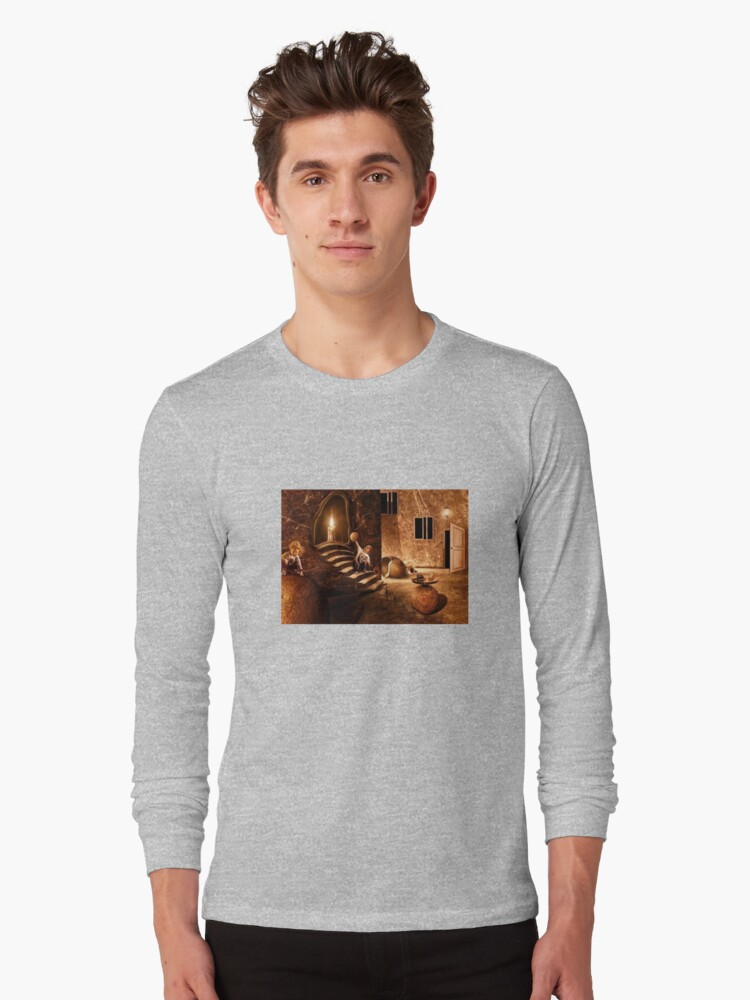 Candle and toddler Long Sleeve T-Shirt Front