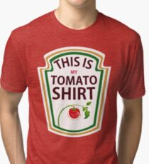 THIS IS MY TOMATO SHIRT Tri-blend T-Shirt