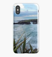 Beach near Charleston/ Westport in New Zealand iPhone Case/Skin