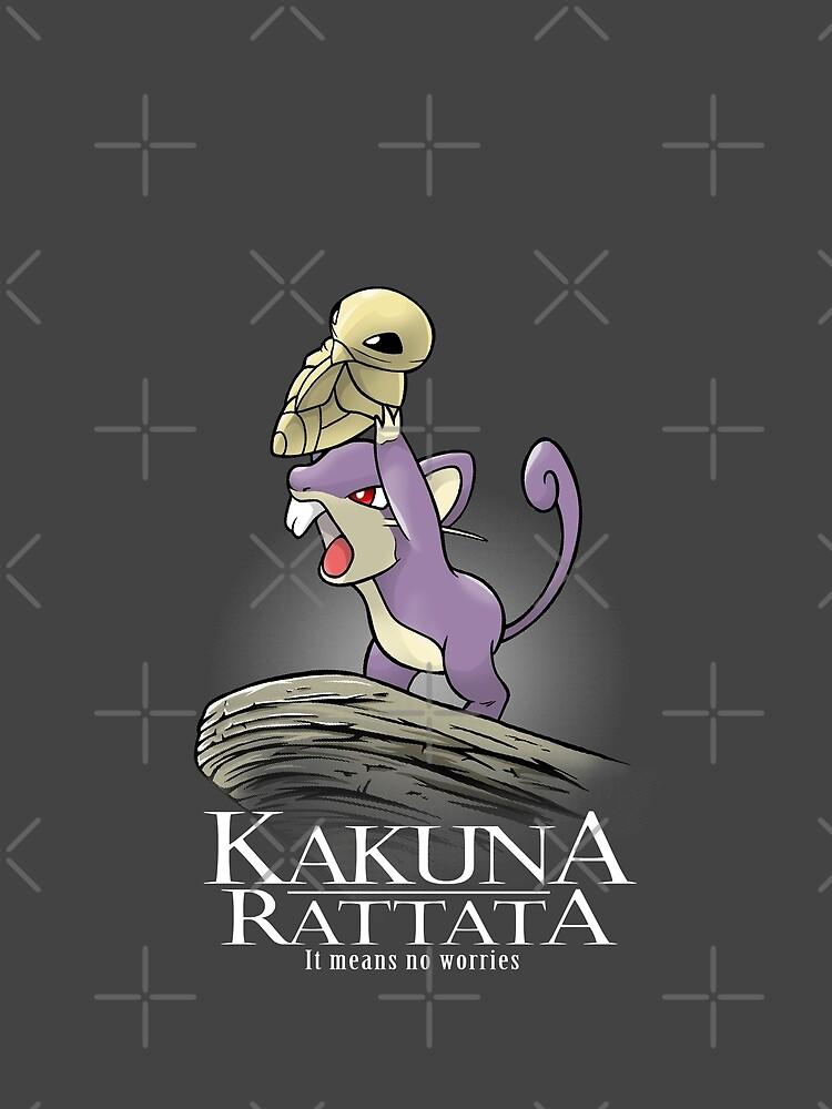 Rattata Kakuna de NemiMakeit
