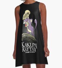 Kakuna Rattata A-Linien Kleid