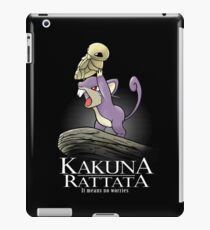 Kakuna Rattata iPad Case/Skin
