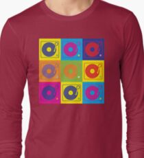 Vinyl Record Turntable Pop Art 2 T-Shirt
