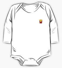 I <3 fries One Piece - Long Sleeve